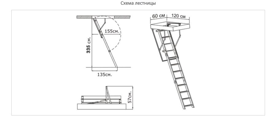 Чердачные лестницы трансформеры своими руками 13